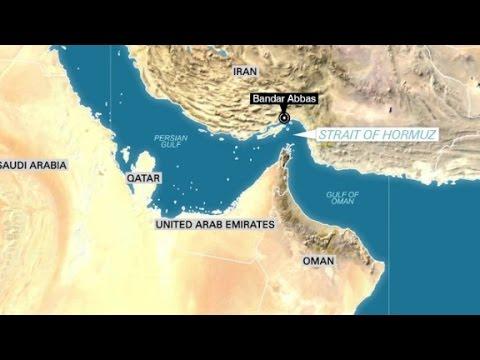 Iran intercepts U.S. flagged ship