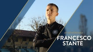 LET ME INTRODUCE... FRANCESCO STANTE! INTER UNDER 14 with Cristian Chivu