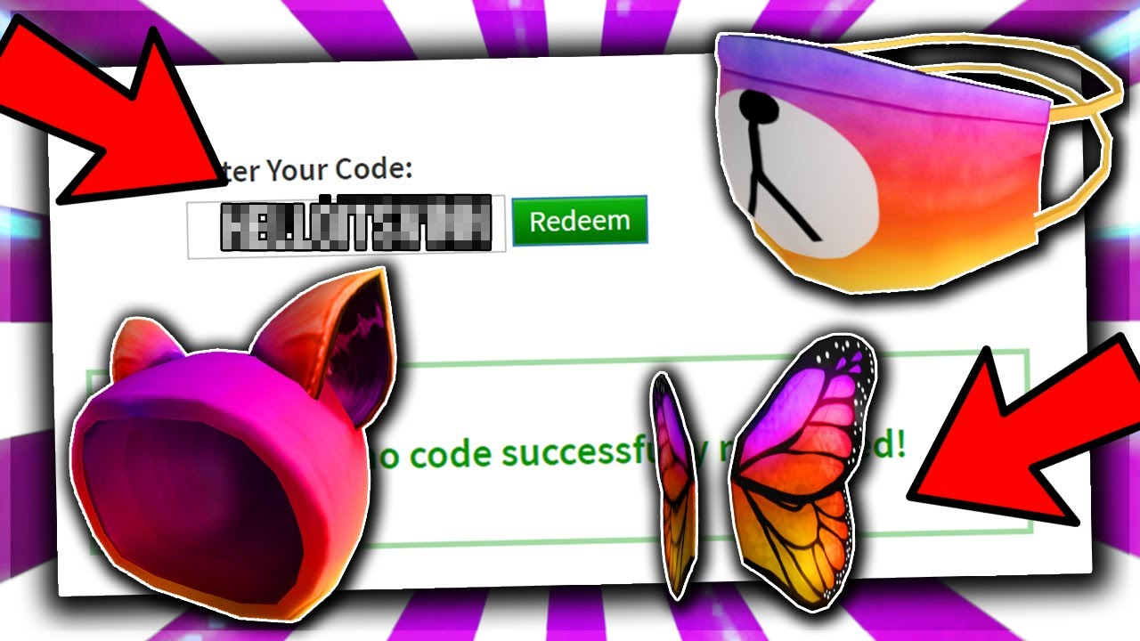 *FEBRUARY* ALL ROBLOX PROMO CODE! INSTAGRAM ROBLOX EVENTS ... on Promo Code Roblox id=73564