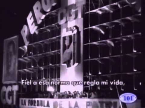 Renunciamiento de Eva Peron - 1951