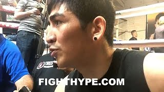 LEO SANTA CRUZ WARNS ABNER MARES HIS PUNCHES ARE GOING TO COUNT; DISCUSSES CHANGES FOR REMATCH