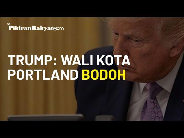 Presiden AS Sebut Wali Kota Portland Bodoh, Donald Trump Diejek Lemah oleh Joe Biden