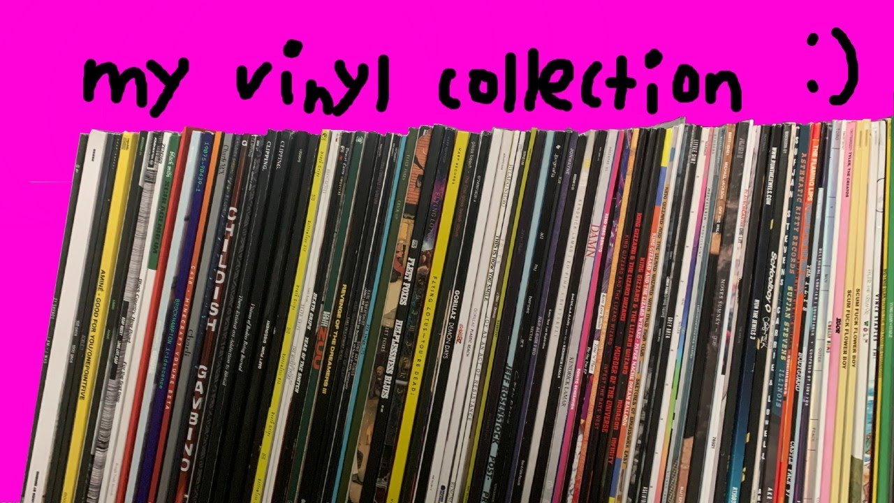 my vinyl collection (thank u for 1k subs)