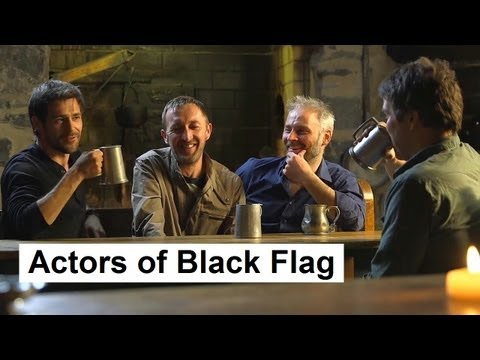 The Actors of the Assassin's Creed IV Black Flag.  AC4 Black Flag gameplay. AC4BF