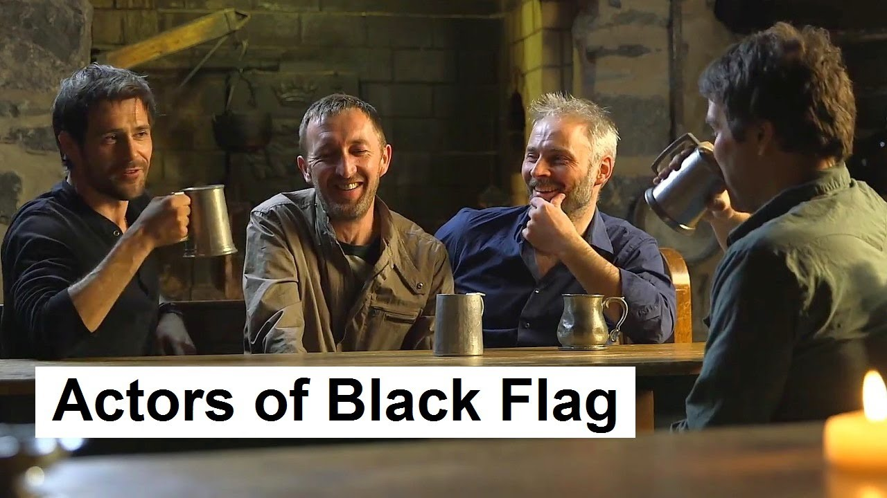 The Actors Of The Assassin S Creed Iv Black Flag Ac4 Black Flag