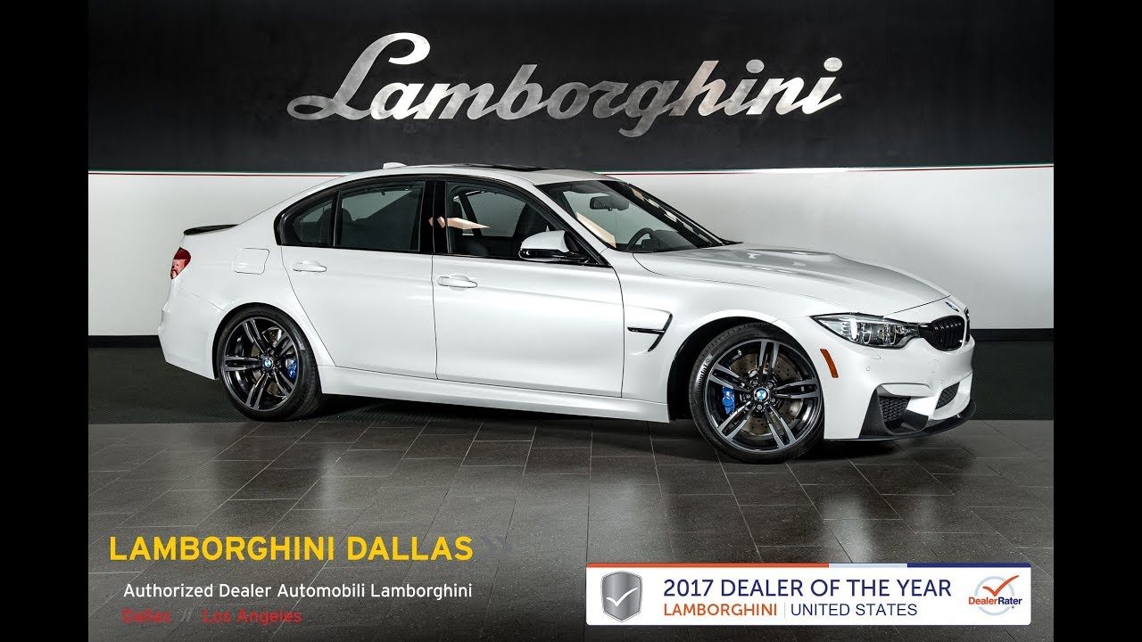 2017 Bmw M3 0 60 >> 2017 BMW M3 Mineral White Metallic LT1099 - YouTube