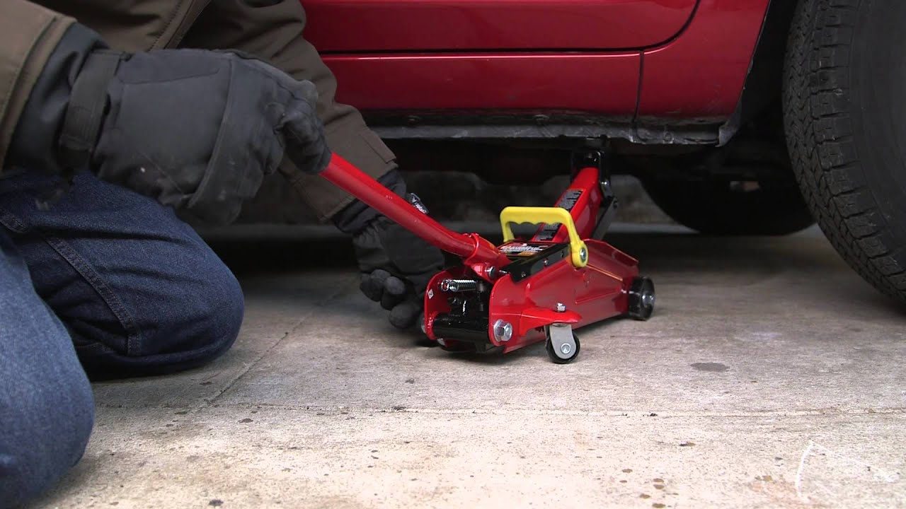 Big Red 2 Ton Car Jack In A Case Pep Boys Youtube