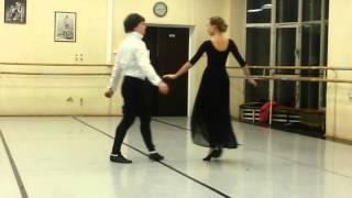 Открытый урок по танцу - Менуэт ( 22.12.13 )