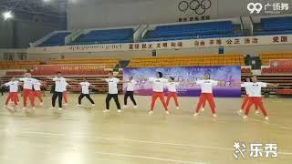 丰镇市靓姿舞协会站在草原望北京表演团队版