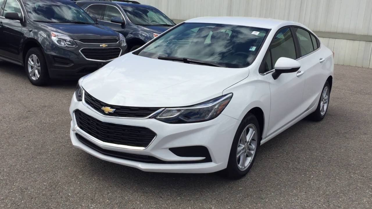 2017 Chevrolet Cruze 4dr Sdn Auto Lt Summit White Roy Nichols Motors Courtice On You