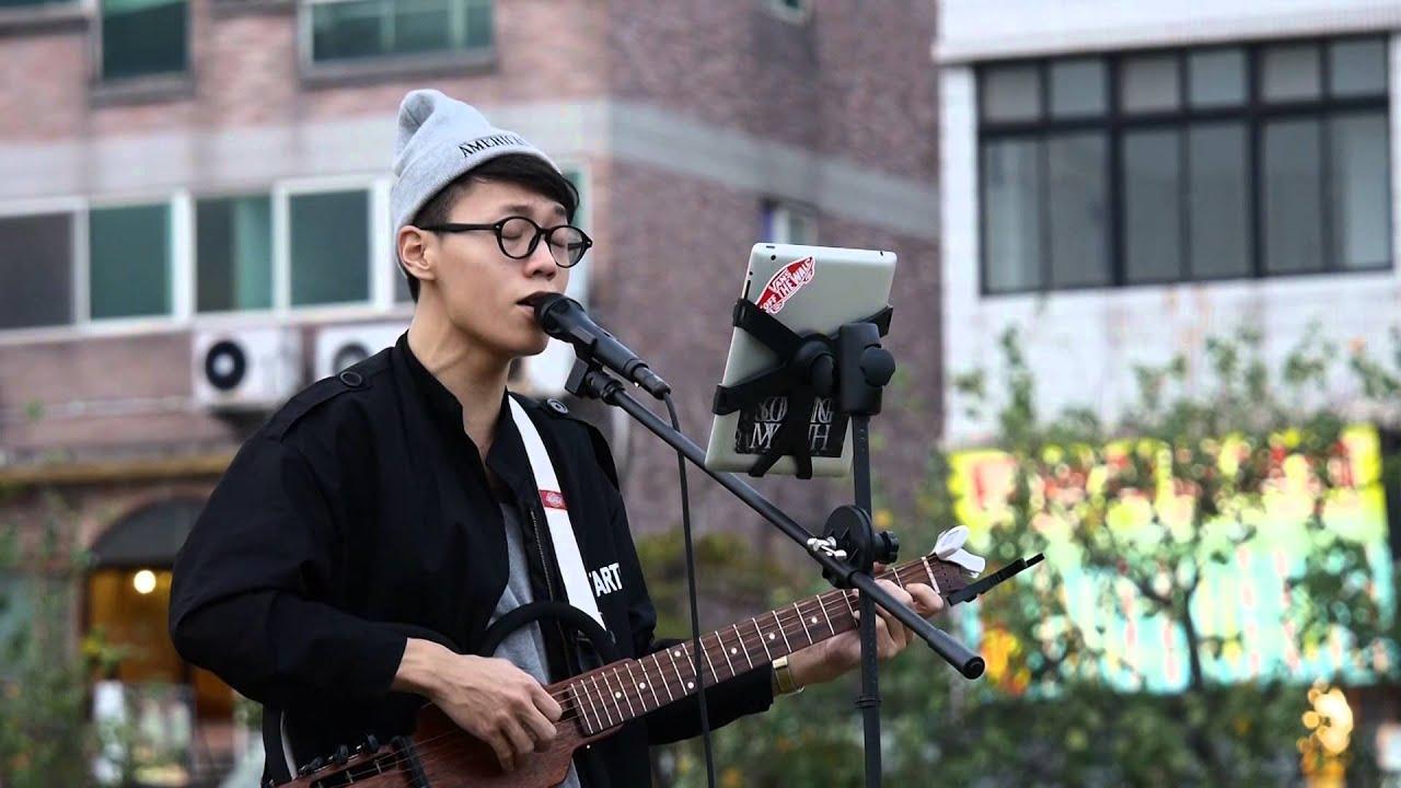 20141108 練懿樂 - 聽說愛情回來過(林憶蓮) 吉他彈唱 - YouTube