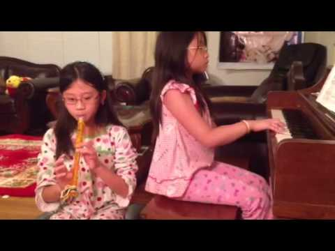 Ode to Joy (Piano and Recorder)