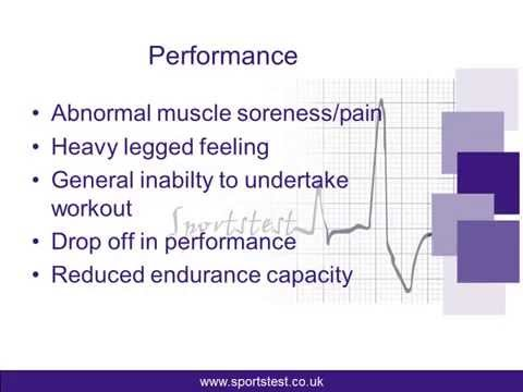 Are you aware when you are overtraining?