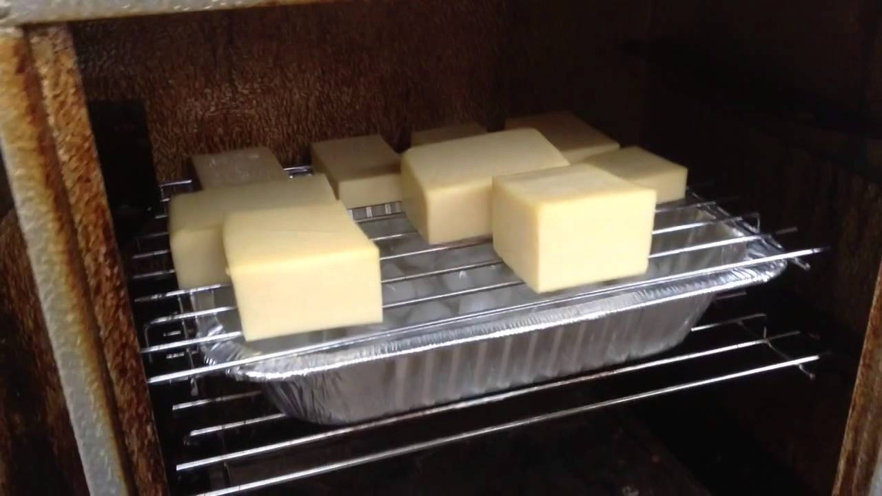 smoking cheese in electric smoker