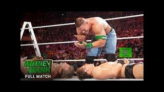 WWE 17/6/2017 Money in the Bank Ladder Match John Rena vs Crowd