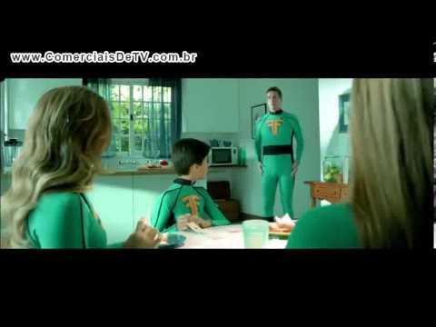 Oi - Família Fantástica - Super Heróis - Comercial de TV