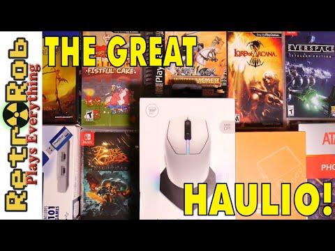 🎮-🕹️-another-great-video-game-haul!-ps1,-ps-vita,-switch,-handheld-pandora's-box!-🕹️🎮