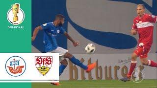 Hansa Rostock vs. VfB Stuttgart 2-0 | Highlights | DFB Cup 2018/19 | 1st Round