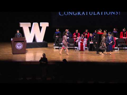 2015 Evans School of Public Affairs Convocation Ceremony