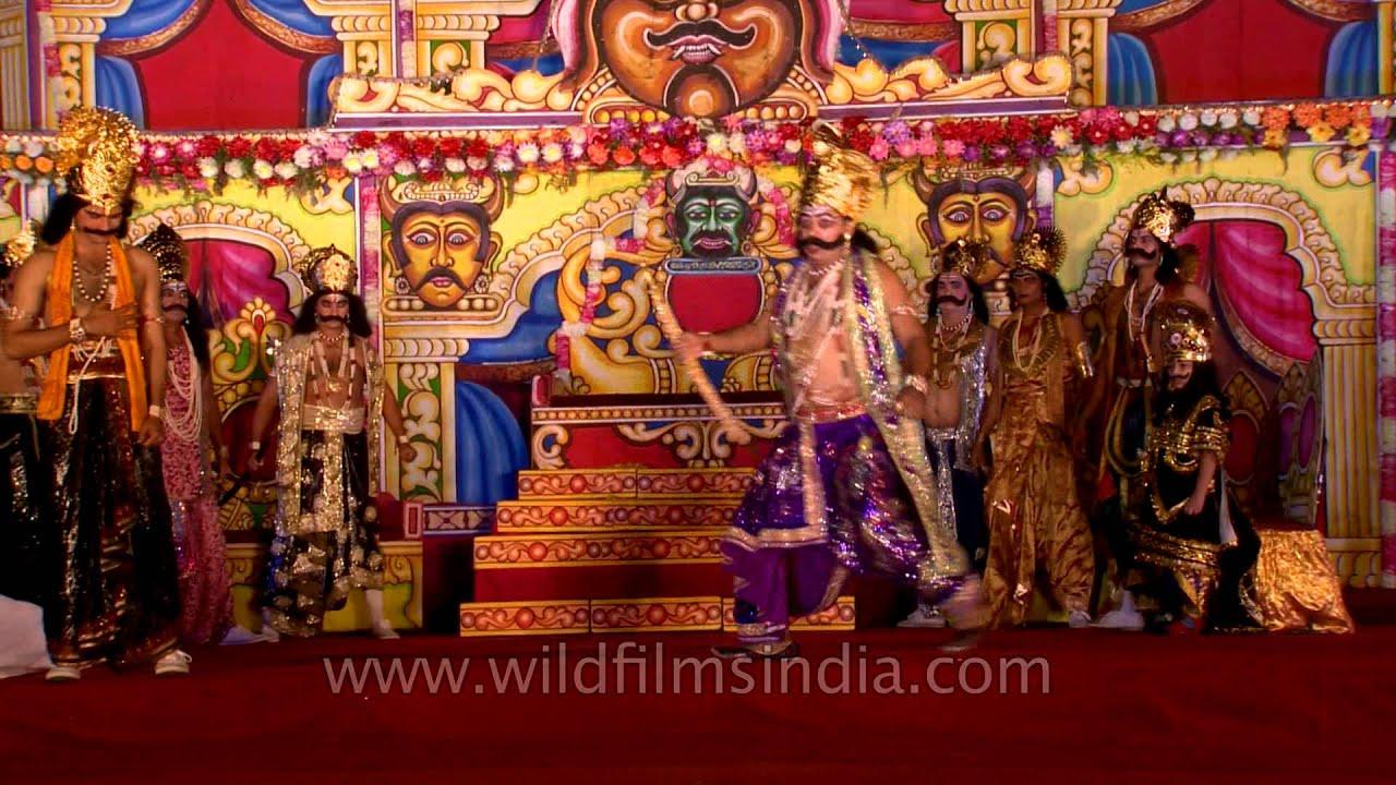 Vibhishana Advises Ravana To Restore Seetha To Rama Youtube