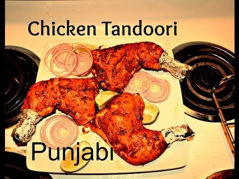 Chicken Tandoori Authentic Punjabi Recipe video (Indian ...