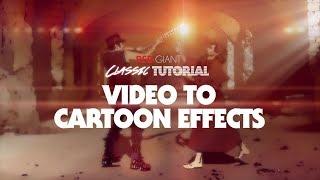 Classique Tutoriel | Vidéo-pour-des Effets de dessins animés