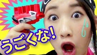 【クレーンゲーム】スポンジを発射する拳銃で撃ちあえ! スポンジガンシューター【ボンボンTV】 thumbnail