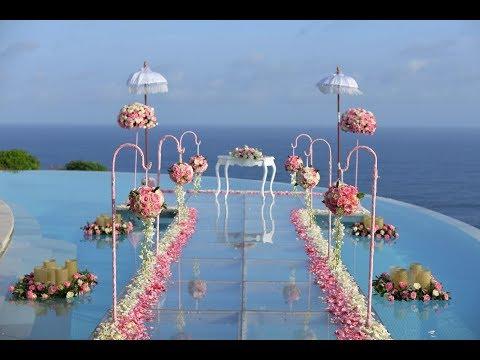 My Water Wedding At Karma Kandara In Bali