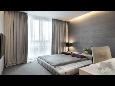Идея дизайна для спальни. Спальня в стиле минимализм.
