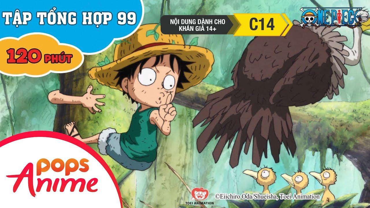 Đảo Hải Tặc Tập Tổng Hợp 99 - Luffy Và Băng Hải Tặc Mũ Rơm - Phim Hoạt Hình One Piece