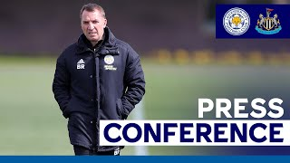 Preparing For Newcastle, Leicester's Schedule & League Targets   Brendan Rodgers   2020/21