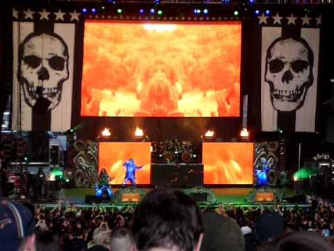 Rob zombie live @ Mayhem Festival @ Seattle Whiteriver Amphitheater