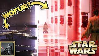 Star Wars: Wofür sind diese Räume und die roten Laser Türen am Ende von Episode 1 gut? [Legends]