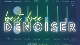 Free Noise Removal VST Plugin For Field Recordings
