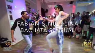 Fabian & Nicolina - Bachata Sensual demo @ B&K Weekend Stockholm