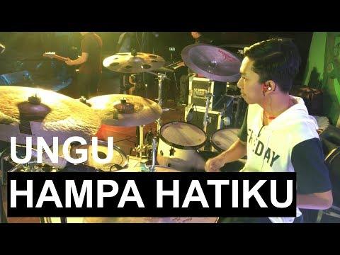 DIVO DRUMMER - Hampa Hatiku Ungu (Cover Band) Drumcam