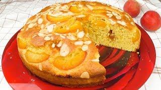 Пирог на абрикосовом пюре.  Быстрая летняя выпечка | Pie on a pureed apricots.  Fast summer pastries