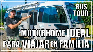 El MEJOR MOTORHOME para VIAJAR en FAMILIA  BUS TOUR TOYOTA COASTER ⭐⭐⭐⭐⭐