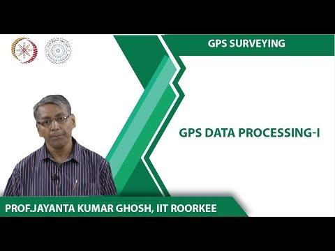 GPS Data Processing-I