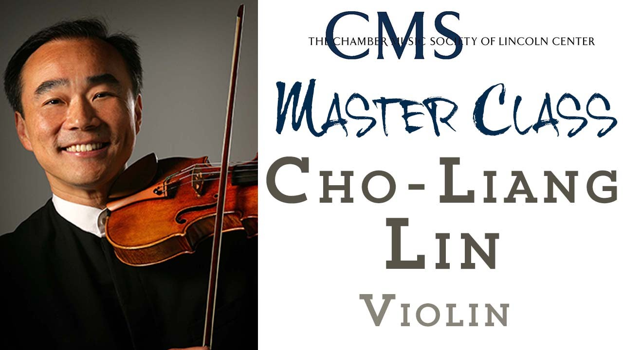 Master Class with Cho-Liang Lin, violin