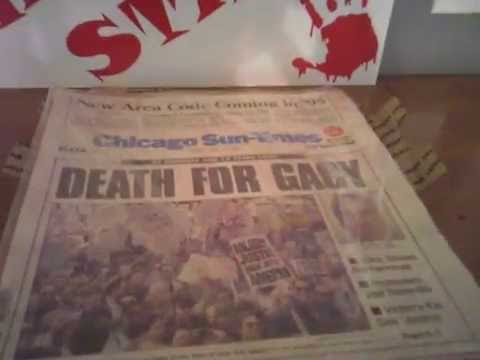 Death For Gacy / Execution / Vintage Chicago Sun-Times Newspaper