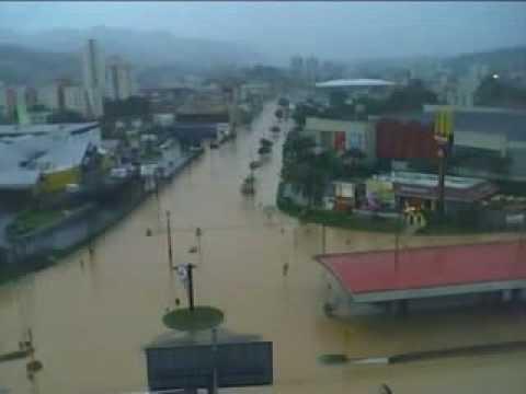 Enchente Blumenau 2008 - A tragédia - O video