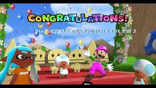 Mario Party 9 - Step it up [TAS] with 2players part 1 of 3