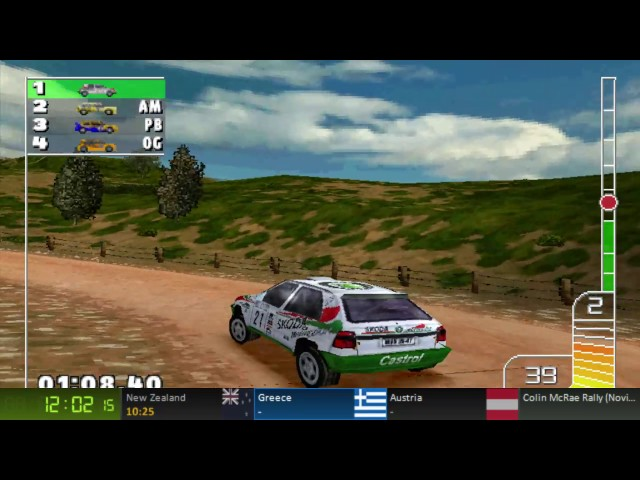 Colin McRae Rally (PS1) Novice Championship Speedrun (58:49) (Old PB)