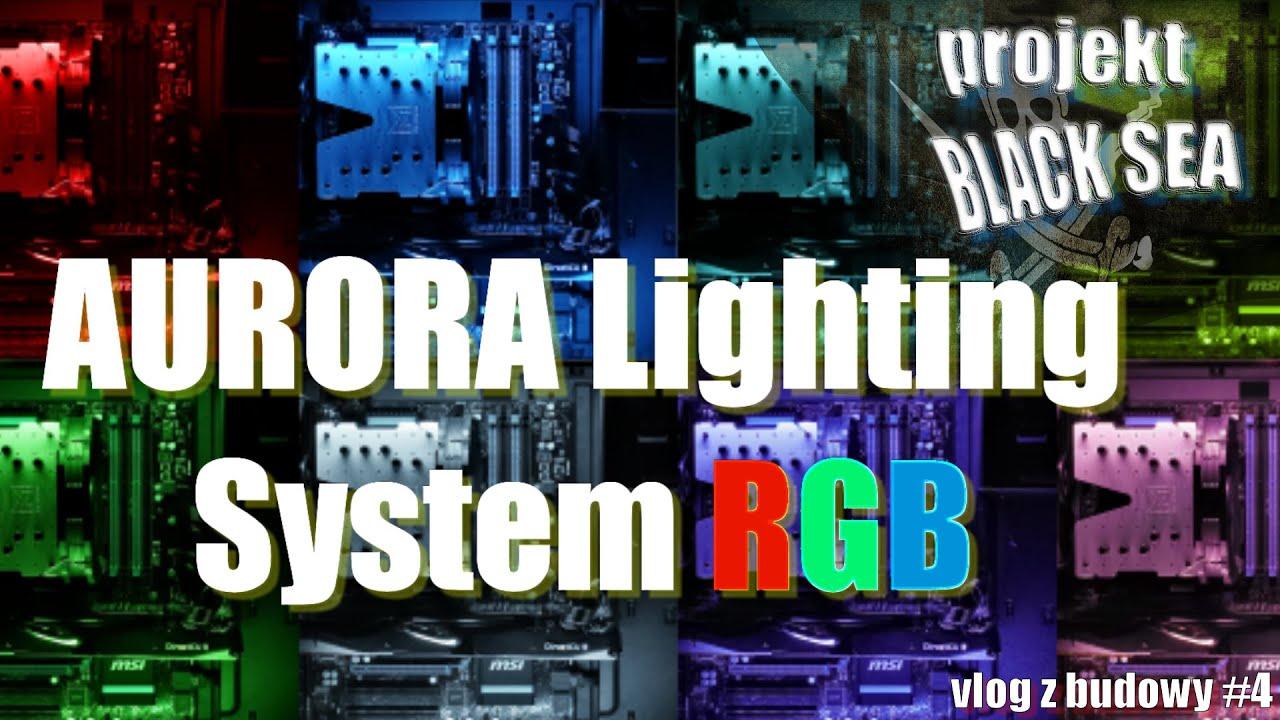 Aurora Lighting System RGB LED SilentiumPC czyli facet o kolorach
