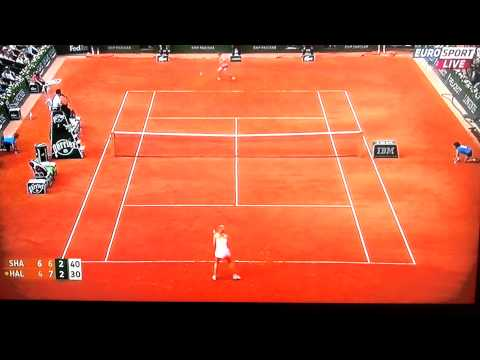 Sharapova vs. Halep: Final RG 2014 - best moments