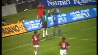European Cup 1988-89: Milan x Real Madrid