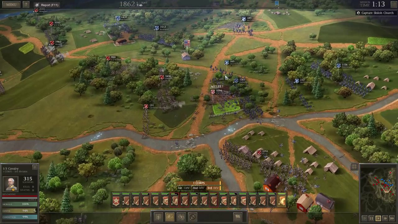 battle of shiloh summary