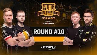 Battle #10, LAN-Finals PUBG Global Invitational CIS Closed Qualifier, Day 2