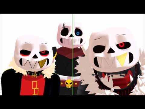 [MMD x undertale] everybody underfell/flowerfell/swapfell